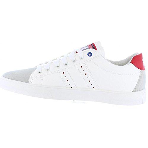 XTI Sportschuhe für Herren 46452 C Blanco-Rojo