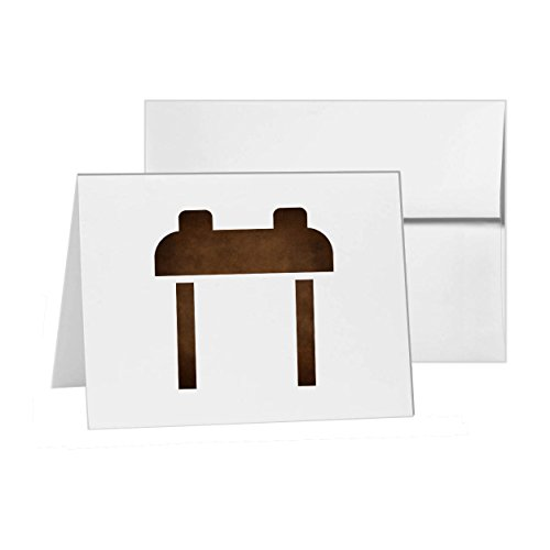 (Pommel Horse gymnastics olympic olympics, Blank Card Invitation Pack, 15 cards at 4x6, with White Envelopes, Item)