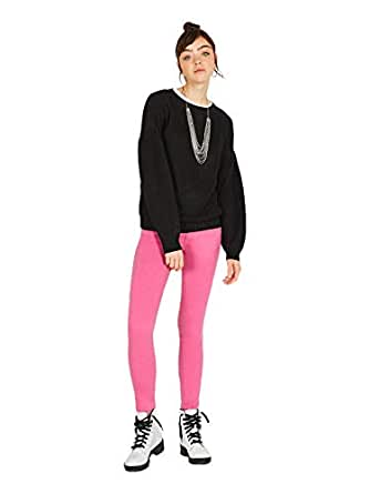OVS Slim Fit Trousers for Women - Pink, Size 36 EU
