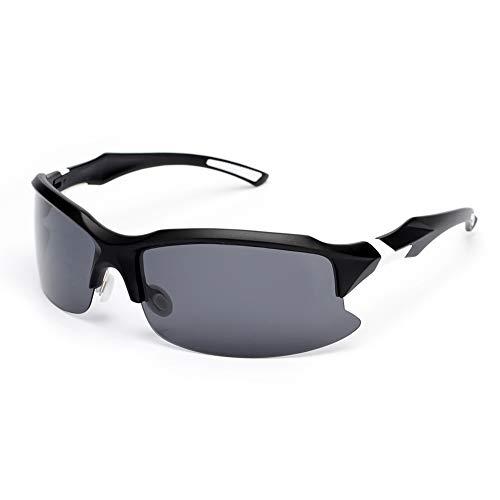 Sposune Polarized Sports Cycling Sunglasses Baseball Glasses for Men Women Bicycle Driving Softball Golf Fishing Hiking ()