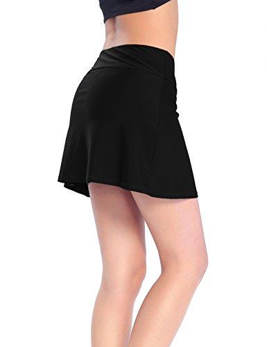 aca6345beb962 Macolily Women's Soild Color Swim Dress Cover Up Skirt Tankini Bottom