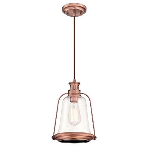 Copper Finish Pendant Light in US - 8