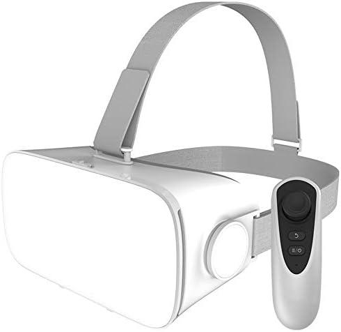 バーチャルリアリティのメガネ 3Dメガネ 0-600°近視調整、 に適しています 4.7-5.5インチ IOS/Android 携帯電話,A