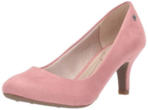 LifeStride Women's Parigi Pump, Rosewood, 8 Wide (Best Dress Shoes For Women)
