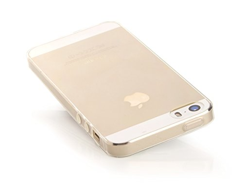 ArktisPRO Premium Apple iPhone 55S Coque de protection en TPU–Crystal Case Étui De Protection Transparent Clair