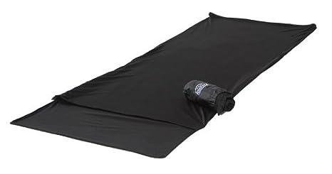 Lestra S.A. Drap Couverture Mérinos - Sábana para saco de dormir, color negro, talla 225 x 70 cm: Amazon.es: Deportes y aire libre