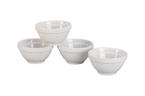 BIA Cordon Bleu 16-Ounce Stackable Bowl, Set of 4, White