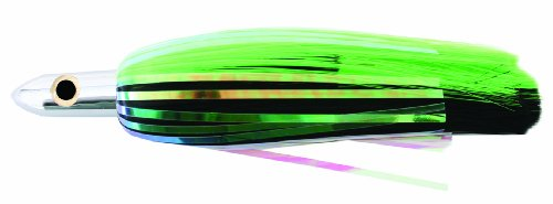 Iland R Flasher Lure, 8.25-Inch, 2.5-Ounce, Black and Green