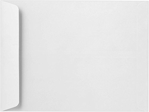 12 1/2 x 18 1/2 Jumbo Envelopes - 28lb. Bright White - Pack of 50 by Envelopes.com