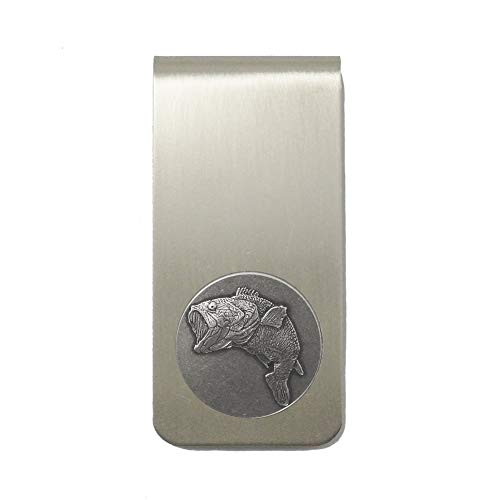 - Indiana Metal Craft Money Clip Nickel Silver with Bass 3/4