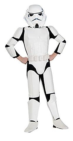 Rubies Star Wars Rebels Deluxe Imperial Stormtrooper Costume, Child Small (Star Wars Rebel Bag)