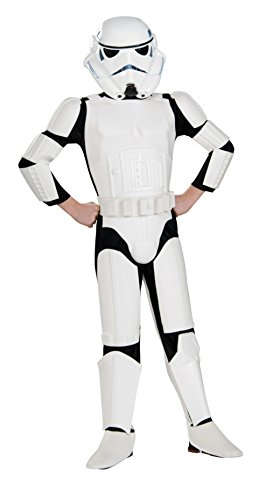 Rubies Star Wars Rebels Deluxe Imperial Stormtrooper Costume, Child Large