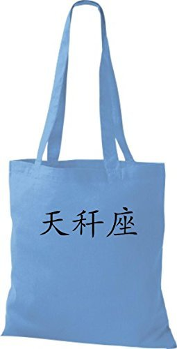 Shirtinstyle - Cotton Fabric Bag Women - Surf Blue
