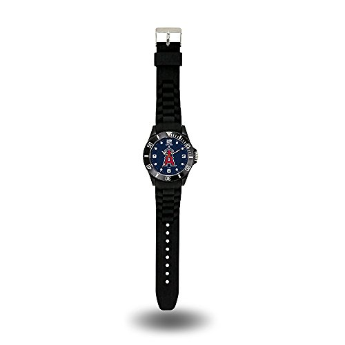 Anaheim Team Watch - MLB Los Angeles Angels Spirit Watch, Black