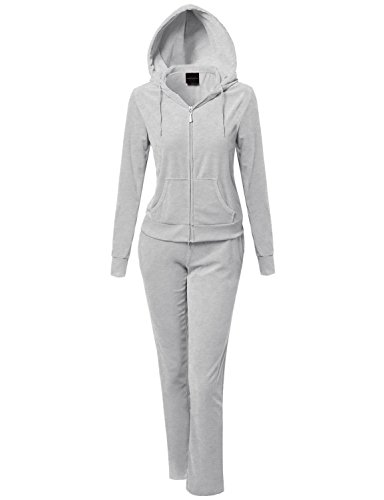 Womens Athletic Soft Hoodie Sweatpants