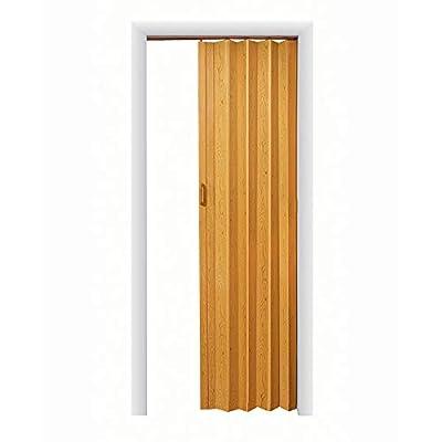 LTL Home Products OK4880K Oakmont Interior Accordion Folding Door Oak