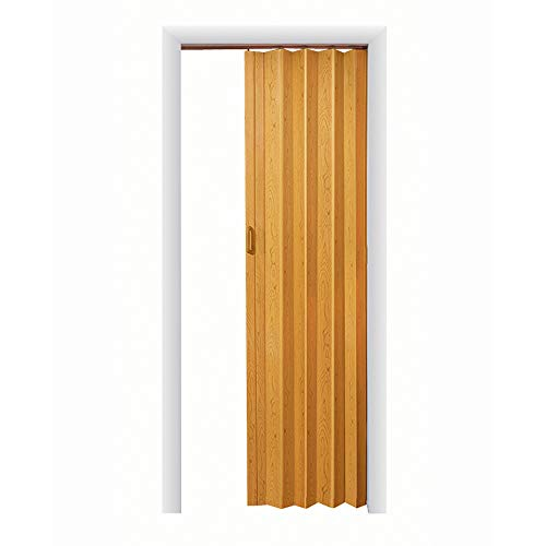 LTL Home Products OK4880K Oakmont Interior Accordion Folding Door, Oak