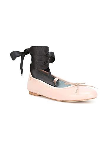 Ferragni Pink Leather CF1419ROSA Flats Chiara Women's dtwPqy4