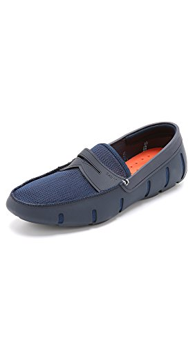 SWIMS Men's Penny Loafers, Navy, 11 D(M) US by SWIMS