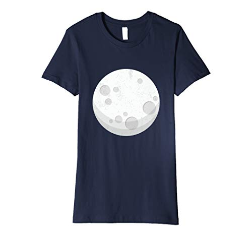 Eclipse Costume For Couples - Moon T-Shirt XL Navy ()