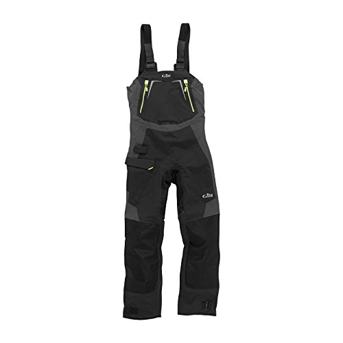 2017 Gill Mens OS1 Offshore Ocean Trousers in Graphite OS12T Size - - Medium