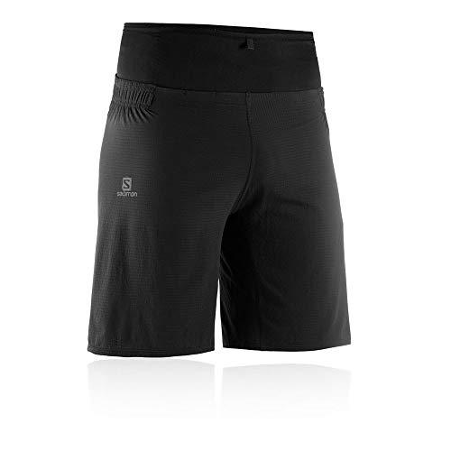 - Salomon Mens Sense Ultra Running Short, Black, X-Large