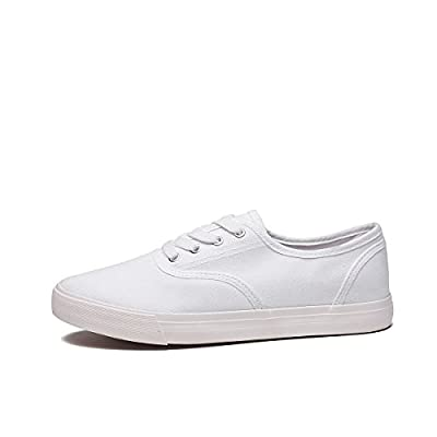 ZGR Women's Canvas Shoes Fashion Low Cut Loafer Sneakers
