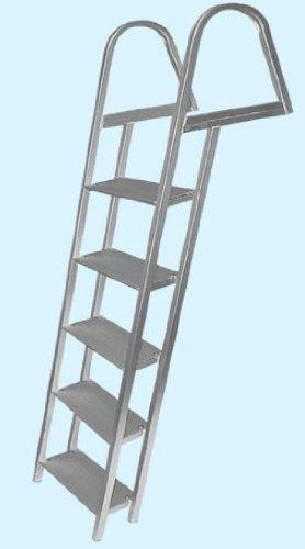 JIF MARINE PRODUCTS LLC 5 LLC 5 Anodized Aluminum Dock Ladder