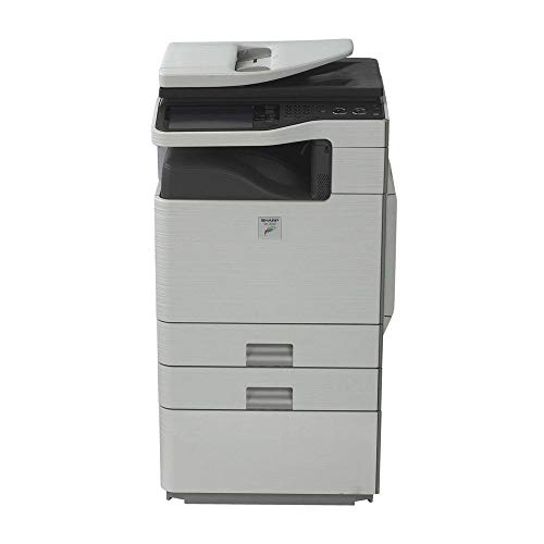 Refurbished Sharp MX-C312 Letter-size Color Multifunction Printer – Copy, Print, Scan, 4 Trays, Auto Duplex, RSPF, 31ppm (Certified Refurbished)