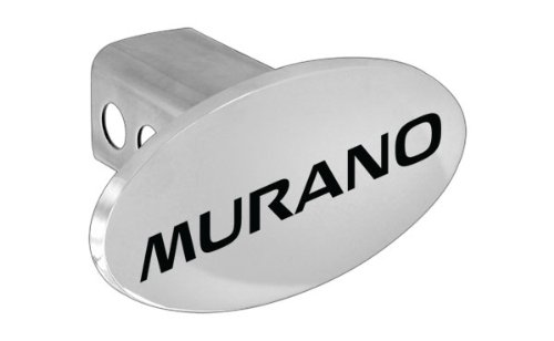 Nissan Murano Logoed Metal Trailer Hitch Cover Plug Emblem