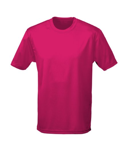 Just Cool - Performance T-Shirt, atmungsaktiv XL,Hot Pink