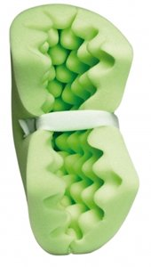 Minty Fresh Patient Positioners - Heel and Elbow Protector with Adjustable Straps, Boot-Shape (Patient Positioners)