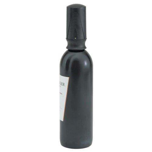 - Vollrath 47609 Black Vacuum Wine Saver/Stopper
