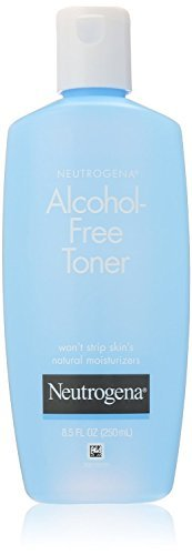 Neutrogena Alcohol-Free Toner, 8.5 Fluid Ounce (Pack of 4)