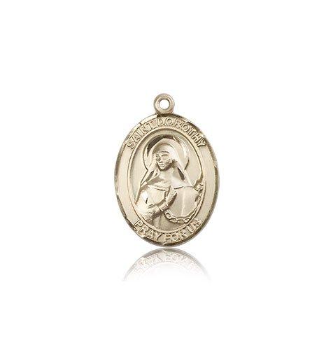14 ktゴールド聖ドロシーメダル B008JL2532