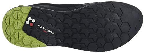 Black 0247 Mixte Basses de Randonnée Chaussures MILLET Noir Amuri Adulte Leather Noir nqYwpazWP