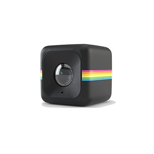 Polaroid Cube HD - Videocámara de acción (Full HD, 6 MP, 124°), Color Negro
