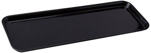 Winco FGMT-0926K Fiberglass Market Tray, 9-Inch by 26-Inch, Black - Fiberglass Market Tray