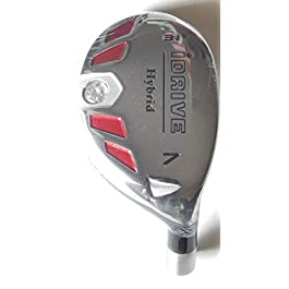 New Integra I-Drive Hybrid Golf Club #7-31° Right-Handed With Graphite Shaft, U Pick Flex