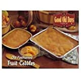 Good Old Days Peach Cobbler, 5 Pound -- 4 per case.