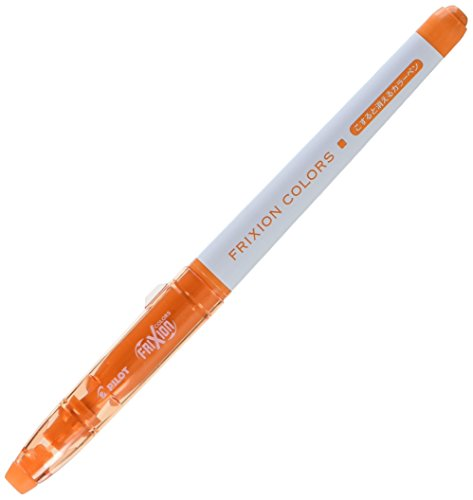 Pilot FriXion Colors Erasable Marker, Orange (SFC-10M-O)