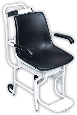 Kyara – Báscula mecánica de silla con ruedas y pantalla digital – Uso privado