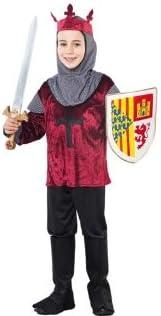 Fyasa 706189-t03 Medieval cruzado disfraz, tamaño mediano: Amazon ...