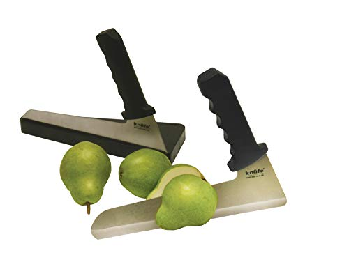 The Knufe: Set of 2 Ergonomic Knives with Holder