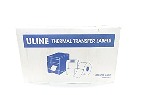 Amazon com: Box of 8 New ULINE S-17055 2X4 Direct Thermal Label