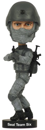 (Royal Bobbles Navy SEAL Team Six Bobblehead)