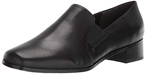 Trotters Women's Ash Loafer,Black Kid,8.5 W from Trotters