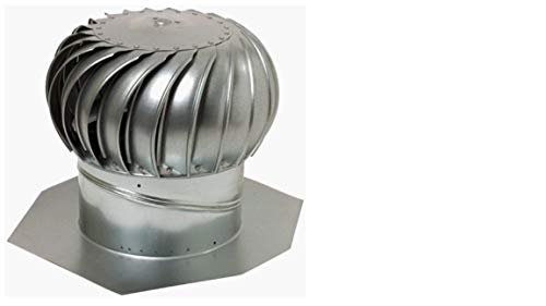 Lomanco Gt 12 Galvanized Turbines Roof Vents Amazon Com