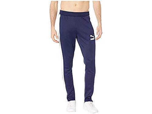 PUMA Men's T7 Vintage Track Pants Peacoat/White X-Large 33