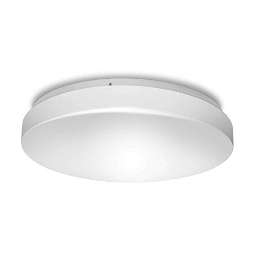 Hyperikon LED Flush Mount White Ceiling Light, Model D 14